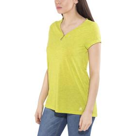 Salomon Ellipse Scoop - Camiseta manga corta Mujer - amarillo